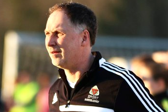 FORTSETTER: Arne Henrik Vestreng går løs på en ny sesong som hovedtrener for Aurskog-Høland FK.