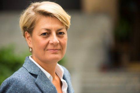 Gode tall: Fylkesdirektør Inger Anne Speilberg i Nav Akershus kan glede seg over synkende arbeidsledighet.