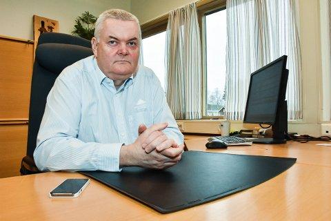 John Sigurd Bjørknes, administrerende banksjef i Høland og Setskog Sparebank.