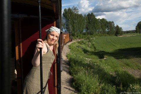 PROSJEKTLEDER: Anja Celine Pedersen i årets Skinner til frihet.