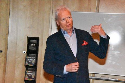Tar kampen: Styreleder Trygve Tamburstuen i Eidsverket AS trenger boligutbygging på eiendommen.