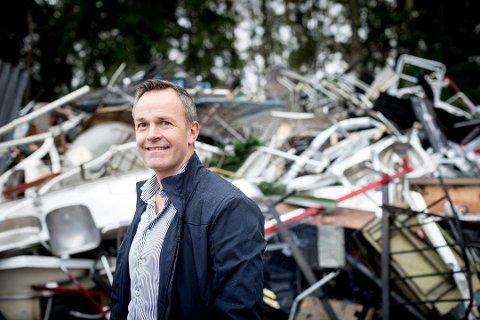 Tar ansvar: Adm. dir. Øivind Brevik i ROAF forteller at selskapet tar over ansvaret for sjåførene i konkursrammede RenoNorden.