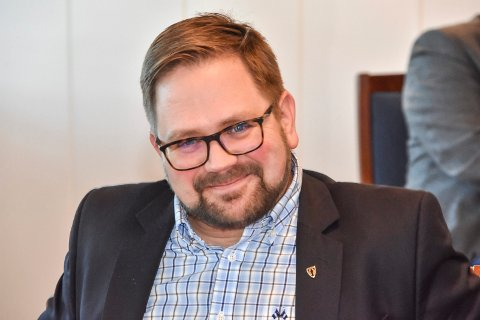 Ordfører Roger Evjen i Aurskog-Høland.