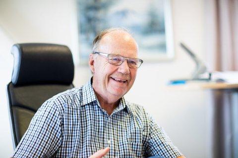 Tar tak: Leder Per Mathisen i Fet Næringsforening inviterer til frokostmøte.