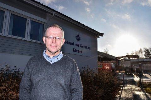 Geir Rismyhr, elverksjef Høland og Setskog Elverk SA