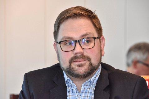 Sikret midler: Ordfører Roger Evjen (Ap).