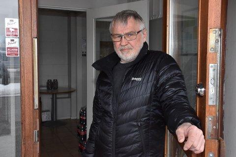 Daglig leder Kjell Roar Nygård i BSF har brukt en arbeidsdag etter at uvedkommende har romstert og tatt med seg ting fra sportsforeningens kontor.