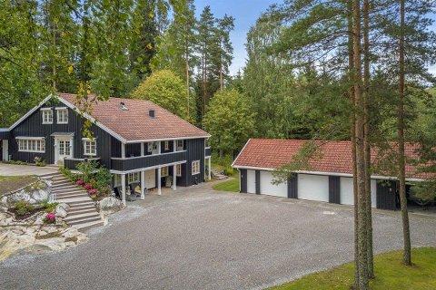 Selges: Setskogveien på Bjørkelangen ligger ut for salg til 7,5 millioner kroner.