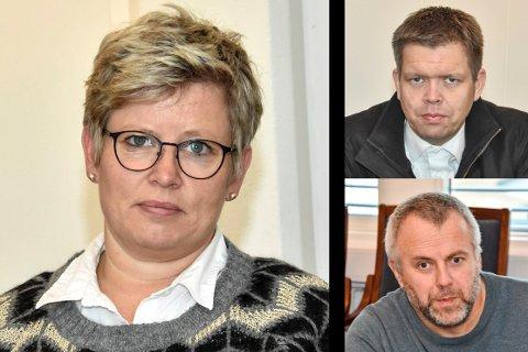 SUTRETE: Randi Ransberg (Ap) synes Rune Skansen (KrF) og Simen Solbakken (H) framstår som grinete gubber, og mener de sutrer.