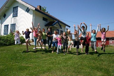 Leir på Halsnes er stadig like populært. Foto: Vigdis Jacobsen/Aurskog-Høland kommune