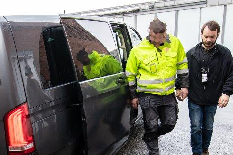 PÅGREPET: Den rumenske firmaeieren ble onsdag pågrepet, siktet for bruk av ulovlig arbeidskraft. Politiet opplyser at de nå ruller opp en sak hvor flere privatpersoner risikerer å bli tatt for bruk av svart arbeid.