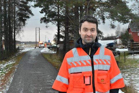 Senioringeniør Vegard Moe i Statens vegvesen Akershus.