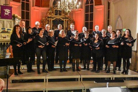 Løken kammerkor er først ut i prosjektet «Evensong i Norge», med aftensang i Løken kirke tirsdag 3. mars.