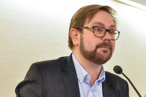 Ordfører Roger Evjen.