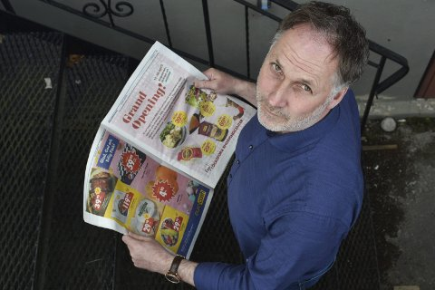 Svarer på kritikken: Ansvarlig redaktør Arne Henrik Vestreng i Indre Akershus Blad.Foto: Øyvind Henningsen