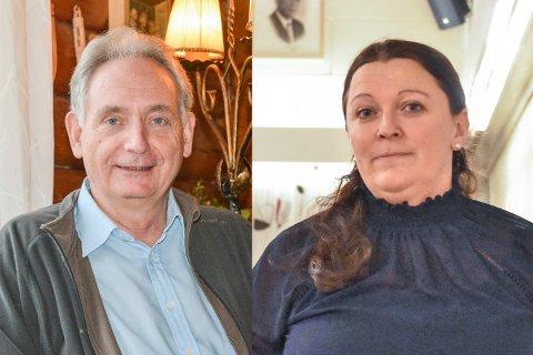 INVITERER: Gudbrand Kvaal og Eline Hestsveen, som innehar første- og andreplassen på Aurskog-Høland Senterpartis liste til høstens kommunevalg.