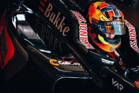 Dennis Hauger. (Foto: Van Amersfoort Racing / Team Norway)