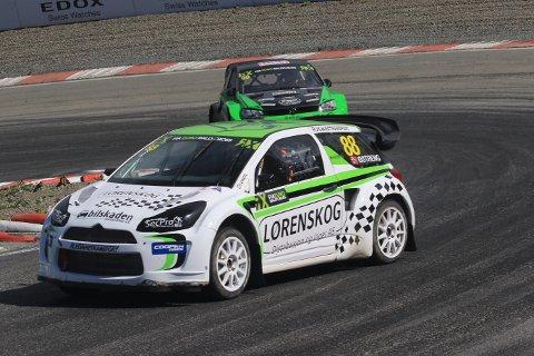 Hans-Jøran Østreng deltar i sin andre EM-runde i rallycross denne helgen.