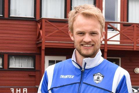 Daglig leder Even Høgenes Oppegaard i Aurskog-Høland friidrettslag.