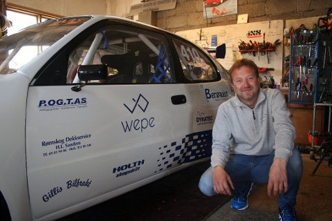 Thomas Tørnby fra Rømskog og hans team kunne juble over en andreplass i helgens NM-runde i rallycross. Arkivfoto: Trym Helbostad