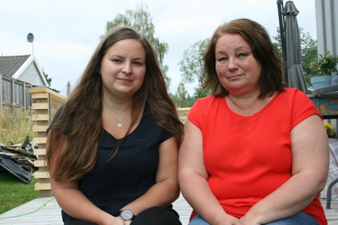 FIKK SLAG: Datteren Marilla (t.v.) har måttet stille opp mer for moren sin etter at hun fikk slag i 2017.
