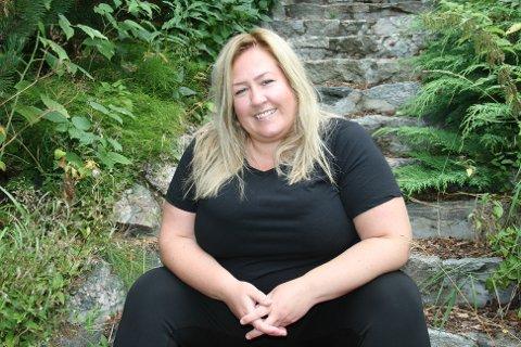 LIVET SMILER: Kjærligheten smiler til Heidi Westby Nyhus og hun er klar for valgkamp.