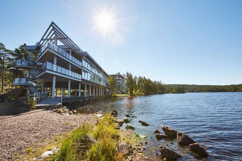 Det er lite å si på spahotellets beliggenhet på Rømskog. Nå oppgraderes hotellet betydelig innvendig.