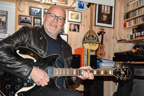HJERTET NÆRT: Musikk ligger Bjørn Skogstads hjerte nært.