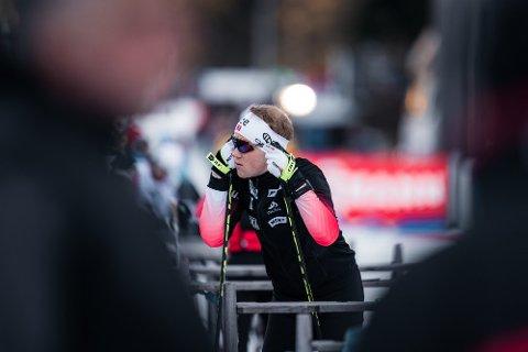 DEBUTERER: Johannes Dale (Fet SSK) har sin VM-debut i Anterselva. Foto: Sondre Eriksen Hensema/Norges Skiskytterforbund