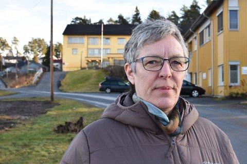 Aina Sletner, leder i Søndre Høland Arbeiderlag.