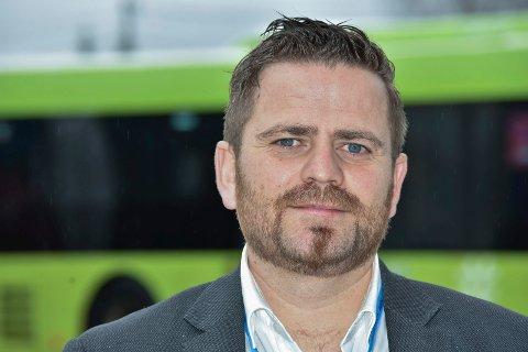 Jon Arne Bergersen områdesjef for Vy buss Nedre Romerike.
