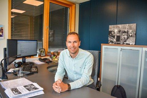 Daglig leder Anders Lysaker i Wepe Regnskap AS på Bjørkelangen synes julebord er et vanskelig tema i år.