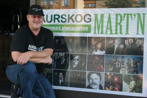 KLAR: Mart'nsgeneral Knut Roger Grøtli håper å kunne arrangere Aurskogmart'n i august.