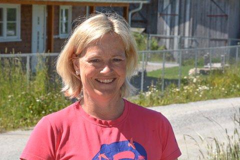 Styrer og innehaver Cathrine Brekken Kolstad i Plommehagen barnehage på Hemnes gleder seg til å åpne barnehagen igjen.