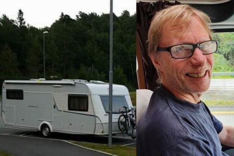 Solgt: Johny Bertheau hadde ikke trodd på den responsen da han la ut campingvogna for salg.
