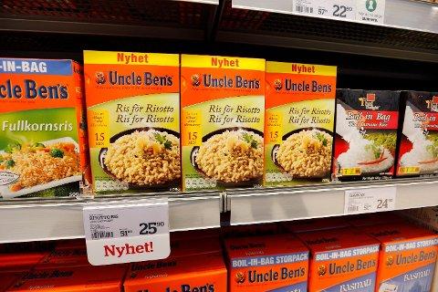 Uncle Ben's gikk fra å være risbonde i Texas til å være et symbol for rismerket verden over. Han har overlevd en rekke kontroverser fra 1940 til i dag, men nå kan slutten være nådd. Foto: Lise Åserud / NTB scanpix