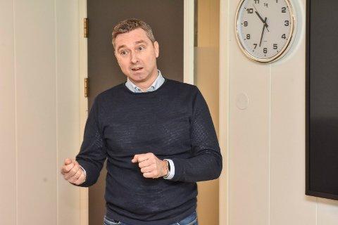 Stabssjef for strategi og utvikling Raymond Hesthaug i Aurskog-Høland kommune.
