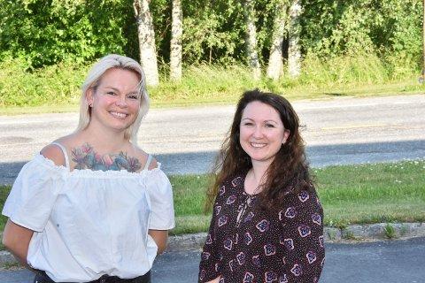 Styremedlem Ailin Vedahl (t.v.) og nestleder Linda Stalheim i Utdanningsforbundet Aurskog-Høland forteller om mange positive erfaringer i tiden med strenge smitteverntiltak i barnehagene.