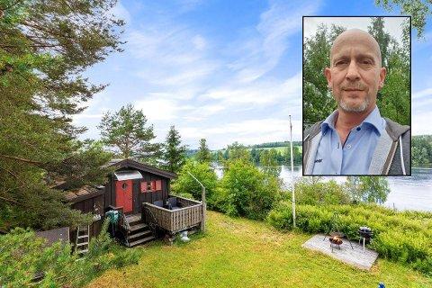 SELGER MED TUNGT HJERTE: Steinar Maagerø syns det er trist å selge tomta som har vært i familien siden 1786.