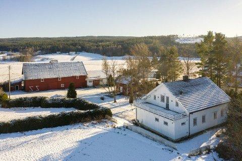 MYE NATUR: Kenneth Sverre, eiendomsmegler i Aktiv Bjørkelangen, meddeler at mange er ute etter landlige eiendommer.