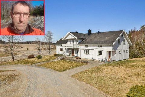 Tormod Jensen og kona Turid selger gården Bratås hvor han har bodd i 40 år. – Det er litt vemodig, innrømmer han.
