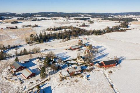 Jeg følte en stor lettelse da kjøpet var i boks, sier eieren av denne eiendommen på Løken.