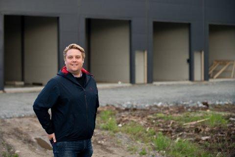 SUKSESS: Jørgen Ittelin-Brynildsen i MittEgetLokale AS forteller at de har etablert lagerlokaler vesentlig flere steder enn de først antok.