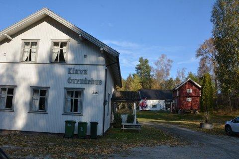 Først var det skole her på Klava, siden grendehus. Nå er det privatbolig.
