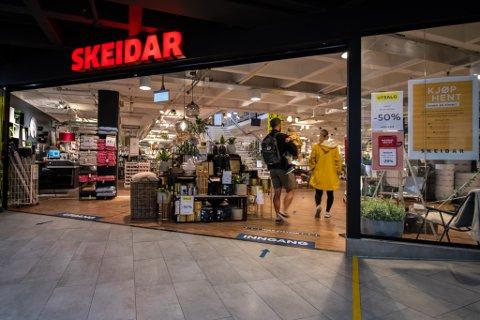 DRIVER GODT: Skeidar-butikken i Skedsmo Senter leverte et solid overskudd i 2020, noe de to andre butikkene i møbelkjeden på Romerike ikke klarte.