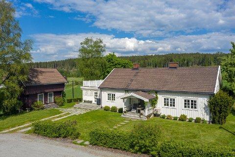 Raskt salg: Gården ble solgt etter forhåndsvisning.