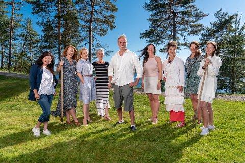 Stefan Gundersen har valgt ut seks av åtte friere som blir med videre.