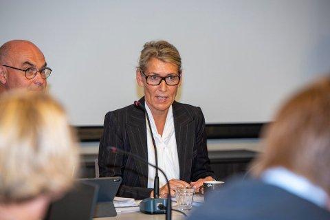 ADMINISTRERENDE DIREKTØR: Hulda Gunnlaugsdôttir ved Helgelandssykehuset.