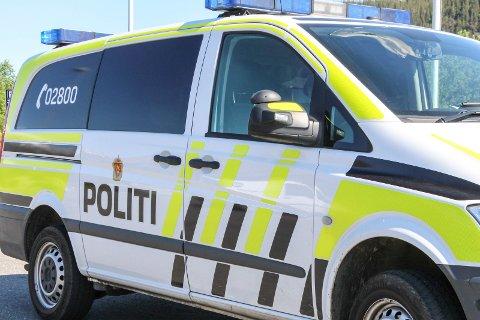 Politi illustrasjonsfoto.