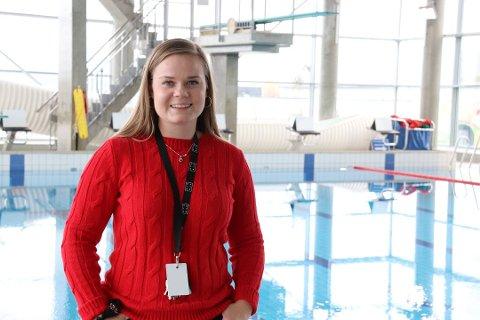 FRITIDSORDNING: Ida Mari Hals Berg i Ungdomstjenesten er klar med et nytt tilbud for ungdom etter skoletid. Her fra Kulturbadet i Sandnessjøen i forbindelse med Ungdomsuka i høst.